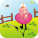 Mad Granny - Keep the wild angry birds from dropping their eggs on gra